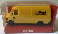 """Herpa 4123 – Mercedes-Benz 207 D """"Post"""", H0 1:87, neu + originalverpackt"""