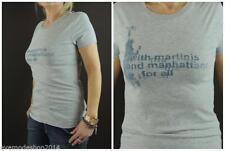 Markenlose hüftlange Kurzarm-Damen-T-Shirts