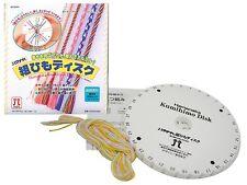 HAMANAKA Kumihimo Disk Thread Kit bracelets necklaces