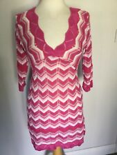 Jane Norman Ladies Knitted 3/4 Sleeve Jumper Dress Size 12. Great Condition.
