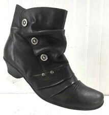 Remonte Dorndorf Size 39 Size 8.5 Boots Womens Brown/Gray Ankle Booties x13