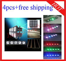 4pcs 5*30W RGB 3 in 1 Led Matrix DJ Disco Bar Light Free Shipping