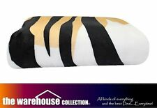 ODYSSEY QUEEN KING TIGER SUPER SOFT BED LOUNGE SOFA THROW RUG BLANKET 240x260cm