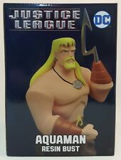 Diamond Select Justice League AQUAMAN Resin Bust ~NEW~UNOPENED~