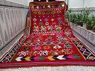 Vintage Handmade Moroccan Azilal Rug Beni Ourain Wool Carpet Berber Tribal Rug