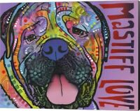 Mastiff Love by Dean Russo, Canvas Wall Art, 20W x 16H