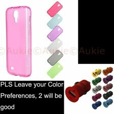Unbranded/Generic Plain Silicone/Gel/Rubber Mobile Phone Cases, Covers & Skins for Samsung Galaxy S4