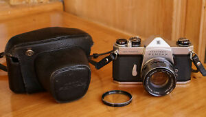 Honeywell Pentax Spotmatic Camera w/ Takumar 55mm f/1.8 Lens, Extras Working