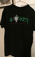 BOKEN Gone Wild JESTER Steven Institute Of Technology T-shirt Hoboken NJ 2005 L
