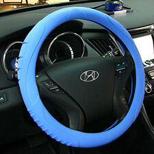 Ionized MASADA Silicone  Car Steering Wheel Cover (Blue)  -Fits to all cars