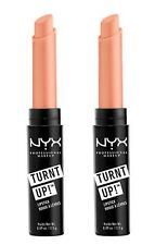 2 x NYX 2.5g TURNT EXTREME IT UP LIPSTICK 15 TAN-GERINE (Nude Coral) Brand New