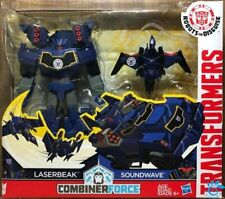 Hasbro Transformers RID Robots in Disguise Combiner Force Laserbeak + Soundwave