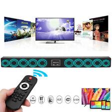Wireless Bluetooth Echo Wall TV Sound Bar Speaker Home Theater Subwoofer 10 Horn
