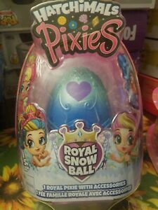 Hatchimals Pixies Royal SnowBall Mystery Egg Magical Snow Ball New