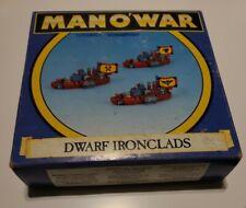 1993 Juegos taller hombre o'war enano ironclads