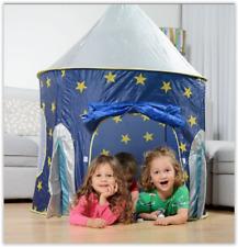 Kids Play Tent Pop Up Rocket Indoor Outdoor Fun Toy Pit Boy Girl Birthday Gift