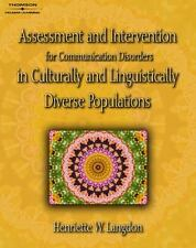 Assessment and Intervention for Communication Disorders in Culturally and...