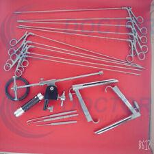 Pedestal Laryngoscope Set Of Micro Laryngeal Surgery Ent Instruments Endoscopic