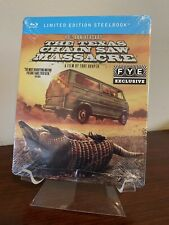 The Texas Chainsaw Massacre Steelbook 40th Anniversary (Blu-ray Disc)  SEALED