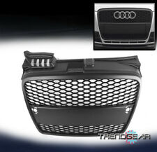 2005-2008 AUDI A4 B7 MATTE BLACK HONEYCOMB FRONT MESH UPPER GRILLE GRILL INSERT