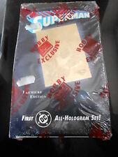 SUPERMAN All-Hologram Set-PREMIERE EDITION - Box Nuovo Unopened Box - VERY RARE