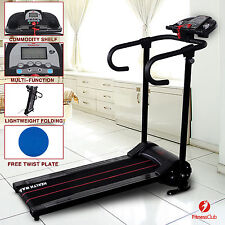 New Electric Motorized Treadmill Portable Folding Running Gym Fitness Machine