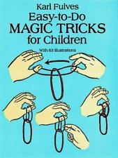 PB Easy-to-Do Magic Tricks for Children 63 Illustrations 1993