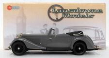 Lansdowne Models 1/43 Scale LDM103 - 1937 Jensen 3.5 Ltr S-Type DHC - Grey