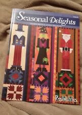 Seasonal Delights Quilting Pattern Book