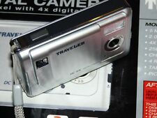TRAVELER DC-55 DIGITAL CAMERA SILVER