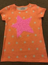 Crewcuts, Collectible Polka Dot Shirt With Neon Pink Star.  Size 12.  NWT