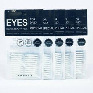 TONYMOLY Eyes Useful Beauty Tool 22 Times x 5ea Double Eyelid Tape Both Sides