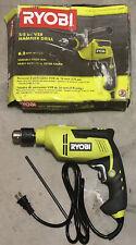 Ryobi D620h 58 Inch Variable Speed Reversible Hammer Drill Power Tool
