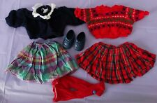 "Vintage Berjusa 18"" doll original tagged clothes lot, #362, 177, 7 pieces"