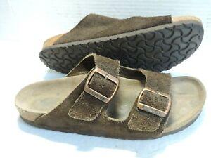 Birkenstock Womens Arizona mocha suede sandals size EU 39