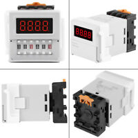 AC/DC 24-240V Digital Cycle Time Timer Switch Delay Relay 0.1s-99h ZYS48-S IS