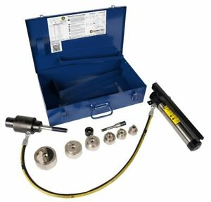"""Current Tool 161SS 1/2-2"""" Stainless Steel knockout kit"""