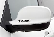 4x Wing Mirror Stickers fits Suzuki Alto Swift Car Decal Vinyl Adhesive AL70