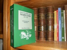 Settlers of Maryland 1679-1783 Consolidated Edition Genealogy Book
