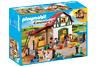 Playmobil 6927 - Pony Farm with 2 Pony Stalls & Storage Loft - NEW!!