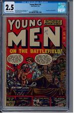 Young Men (Atlas) #14 CGC 2.5 on the Battlefield