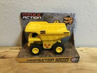 Kid's Dump Truck Construction Vehicle Toy - Moving Parts Sounds Lights Rev Motor