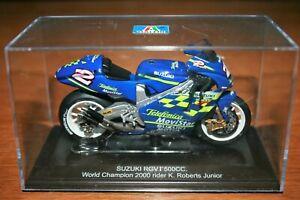 KENNY ROBERTS JR SUZUKI RGV500 2000 PROTAR 1:22 IXO Motorbike - Rare