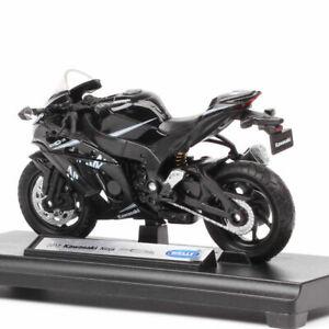 Welly Kawasaki 1:18 Scale2017 Ninja Zx10-Rr Racing Motorcycle Diecast Toy Model