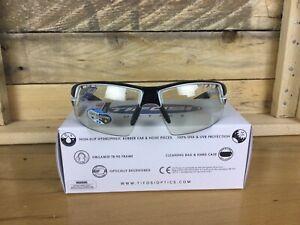 Tifosi Crit Crystal Black Sunglasses Fototec Lenses new