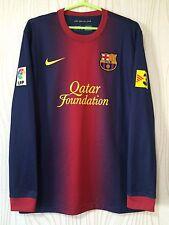FC BARCELONA SPAIN 2012 2013 NIKE ORIGINAL HOME FOOTBALL SHIRT JERSEY CAMIESTA
