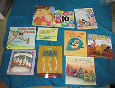 DAYCARE/ K/ PRE-K TEACHERS:  MATH PICTURE BOOKS ABOUT COUNTING
