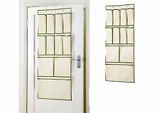 NEW RUSSEL 11 POCKETS OVER THE DOOR HANGER SHOES STORAGE SOLUTION ORGANISER