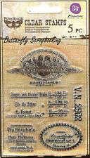 Finnabair Musica #1, Clear Unmounted Rubber Stamp PRIMA MARKETING INC. - 960933