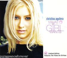 CHRISTINA AGUILERA - What A Girl Wants (UK Ltd Ed 3 Tk Enh CD Single Pt 2)